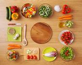 Zdravé domácí vegetariánská