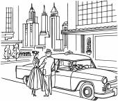 New York Taxi služba
