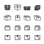 Box sada ikon