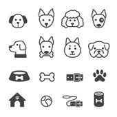 Kutya ikon készlet