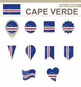 Cape Verde Flag Collection 12 versions