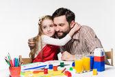 Dcera a otec přibližování