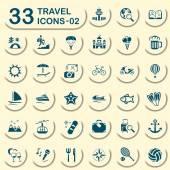 33 džíny cestovní ikony 02