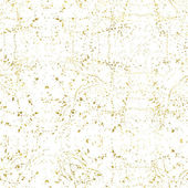 White and gold freehand  pattern Abstract spray background Vector illustrationShiny backdrop Texture of gold foil