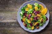 Mix salát s pomerančem