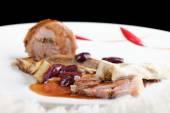 Feine Küche, Feinschmecker Main Entree Kurs gegrilltes Lamm steak