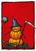 Halloween holiday jack-o-lantern