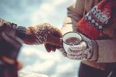 Zimní čaj party