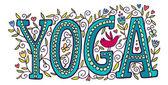 Das Wort yoga