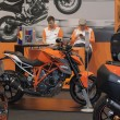 Постер, плакат: Austria motorcycle KTM Super Duke R 1290 at Motosalon 2016