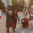 Постер, плакат: Cosplayers dressed as characters from pc game