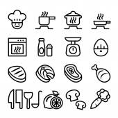 Cooking icon set Vector illustration Graphic Design