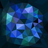 Vector illustration of abstract background for design Polygonal Mosaic Triangular low poly style