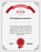 Diploma di modello, certificato valuta