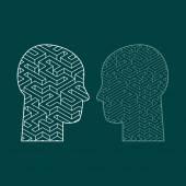 Symbol myšlení mozku