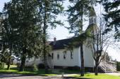 Historické Milner kaple v Langley Britská Kolumbie