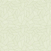 Vector seamless linear pattern with stylized grass Green illustration with hand drawn graphic