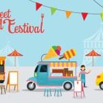 Постер, плакат: Food Truck Street Food Festival
