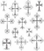 Cross  symbols set