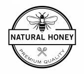 Přírodní včelí odznak