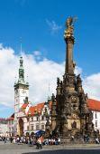 Sloup Nejsvětější Trojice (Unesco), renesanční radnice s aktem