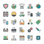 A collection of Networking Web User Interface and Internet Vector Icons that you can easily integrate in your design and the cool thing is that there are so many of them you will definitely find something you need in here