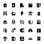 A set of Energy and Power Vector Icons that you can use on your website infographic blog social network and many more graphics