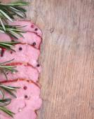 Sirloin of pork with herbs