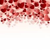 Piros elegáns szív fedél