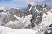 Francie, pohoří Mont Blanc