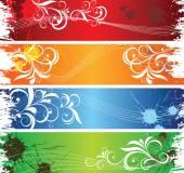 Farbige Banner