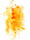 Abstract watercolor hand drawn splashes