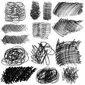 Gruppe von Linien, Tinte