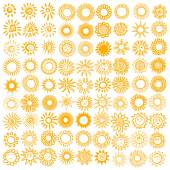 Sada symbolů slunce