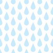 Das Muster der Tropfen Regen