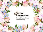 Színes üdvözlő esküvői meghívó