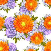 Virág mintás háttérrel