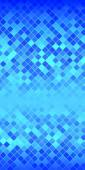 Mosaic background flyer abstract blue squares