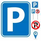 Parking Sign set