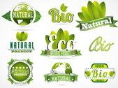 Címkéket, természetes termékek