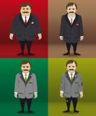 Carattere umano in quattro diverse situazioni finanziarie