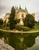 Původní středověký hrad v Bojnicích