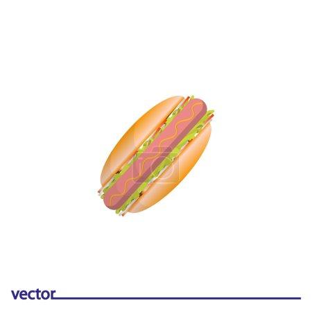 Icon of hot dog