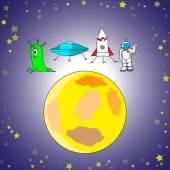 Board games set vector illustration