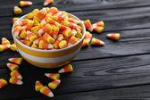Halloween cukorkát tyúkszem