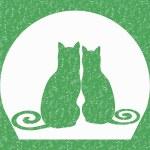 Постер, плакат: Spring cats