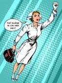 Super hrdina sestra letí na pomoc