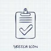 Quality control related vector icon Pass