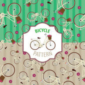 Bicycle pattern number 4 set with two color options