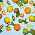 Постер, плакат: Lemons tangerines limes